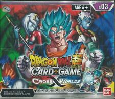 Dragon Ball Z Super Series 3 Cross Worlds TCG Booster Display