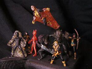 25 mm, nouveaux mutants personnalisés à l'échelle 1/48 de Marvel Comics