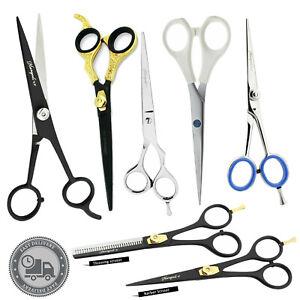 Barber-Salon-Hair-Cutting-Scissors-Set-Texturizing-Thinning-Shears-Hair-Beauty