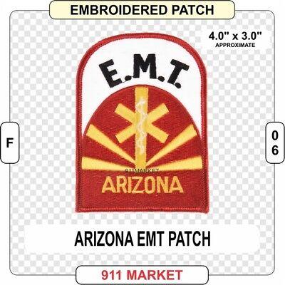 North Dakota EMT Patch ND State EMS Emergency Medical Technician Service F 30