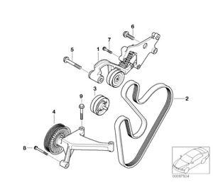 02 06 Mini Cooper S R52 R53 W11 Supercharged Engine Belt Tensioner Pulley Kit Ebay