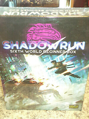 Shadowrun 6th Edition Beginner Box-Brand New /& Sealed