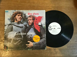 Bee-Gees-White-Label-Promo-LP-Cucumber-Castle-Atco-SD-33-327-1970