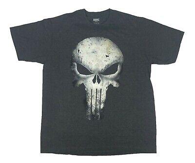 The Punisher Sprayed Skull Logo Tanktop Black XL