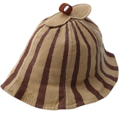 Toddler Kids Baby Boys Girls Stripe Sun Hat Summer Beach Hat Bucket Cap