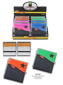 Portasigarette-cigarette-case-metallo-per-20-sigarette-classiche-jeans-KS-AA534