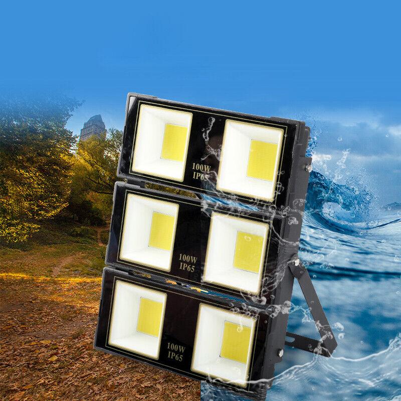 súper Power LED Luz de inundación al aire libre del proyecto Jardín Lámpara de Iluminación Plaza Tribunal Nuevo