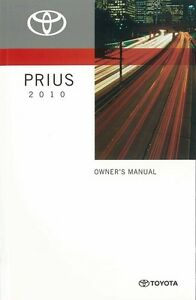 2010 toyota prius owners manual user guide reference operator book rh ebay co uk 2010 toyota prius owners manual pdf toyota prius 2010 owner manual pdf