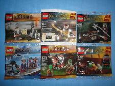 Lego Lotr & HOBBIT - 30210 + 30211 + 30212 + + 30216 + Elrond 30213 * Nuevo y Sellado *