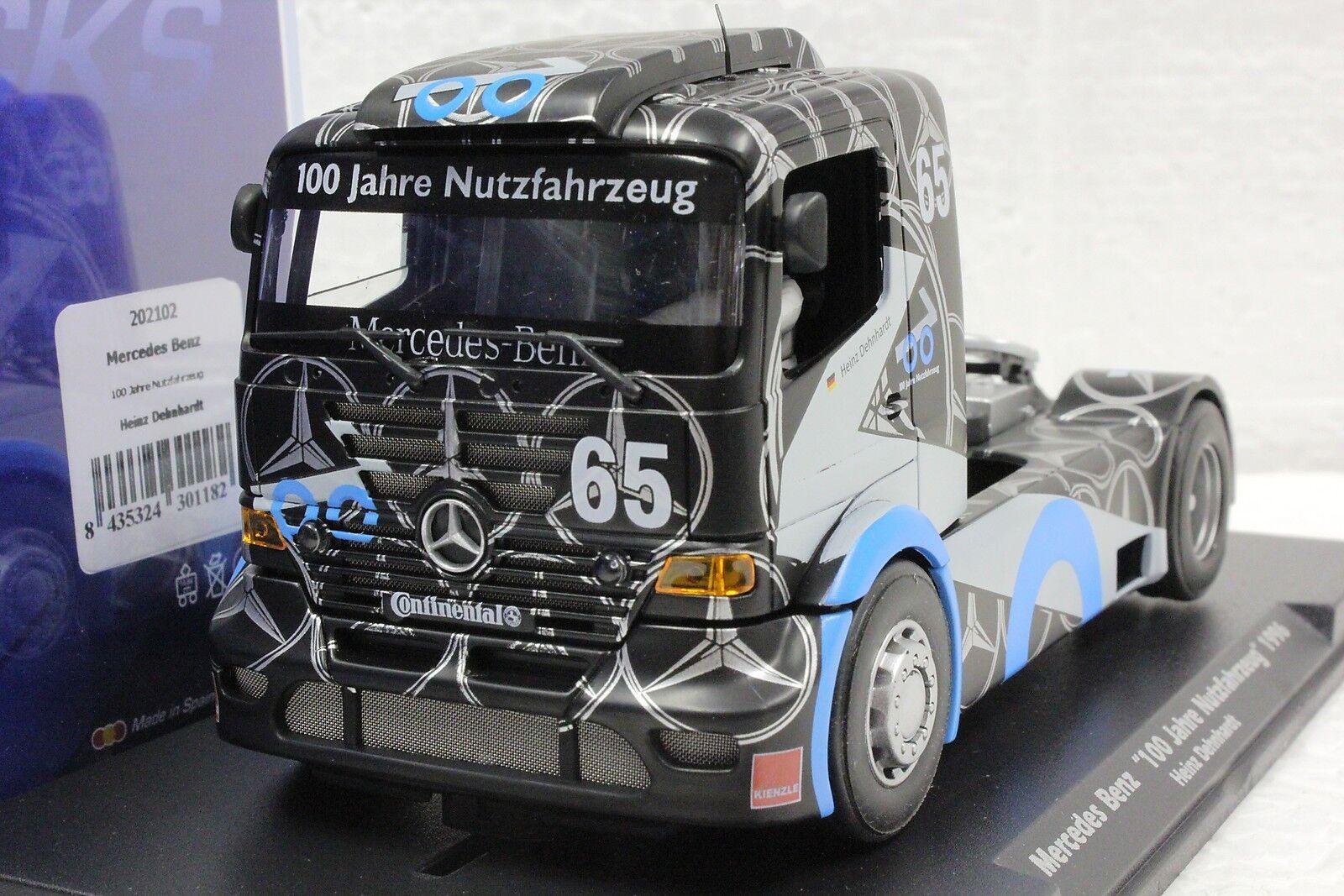 Fly 202102 Mercedes Benz Super camion Jahre 96' Nouveau  1 32 slot voiture en vitrine  jusqu'à 65% de réduction