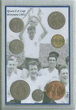 Tottenham Hotspur Spurs Vintage F.A Cup Final Winners Retro Coin Gift Set 1961