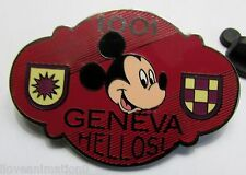 Disney Auctions Mickey Mouse International Hotels Series Geneva Hotel Pin