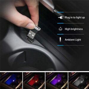 USB-LED-Luz-de-tira-flexible-interior-de-coche-Mini-Tubo-De-Neon-atmosfera-CL-Lampara-de-neon