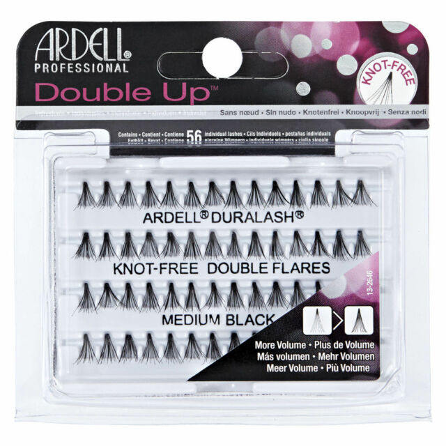 b7c44766768 Ardell Knot-Free Individual Lash Double, Black, Medium