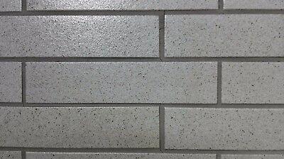 Fassade Baustoffe & Holz GüNstig Einkaufen Korzilius Klinker-riemchen Df Derby-weiß Pfeffer-salz Spaltriemchen Wir Haben Lob Von Kunden Gewonnen