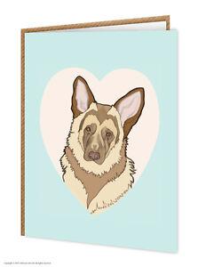 German shepherd dog lovers birthday greeting card brainbox image is loading german shepherd dog lovers birthday greeting card brainbox m4hsunfo