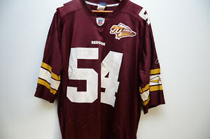 pretty nice ad7b1 e4e0b Details about Reebok Replica Jeremiah Trotter Redskins 70th Anniversary  Jersey Sz.2XL Used