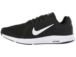 dbb0e837b6b1 NIKE Men s Downshifter 8 Running Shoes Black White 908984 001