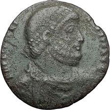JULIAN II 361AD Bull TAURUS ZODIAC Large Authentic Ancient Roman Coin i59694