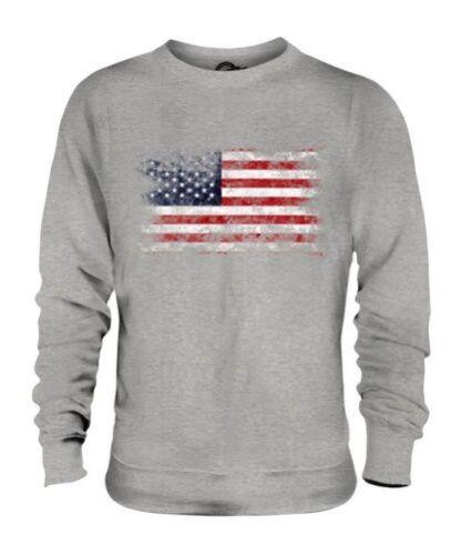 Maglione Strisce Unisex Uniti Consumato E America Effetto Stelle Bandiera Stati 56wX7Oq5Yx