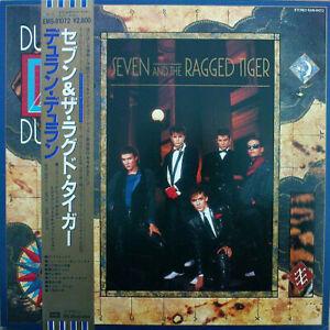 Duran Duran Seven And The Ragged Tiger EMI EMS-91072 LP JAPAN OBI INSERT