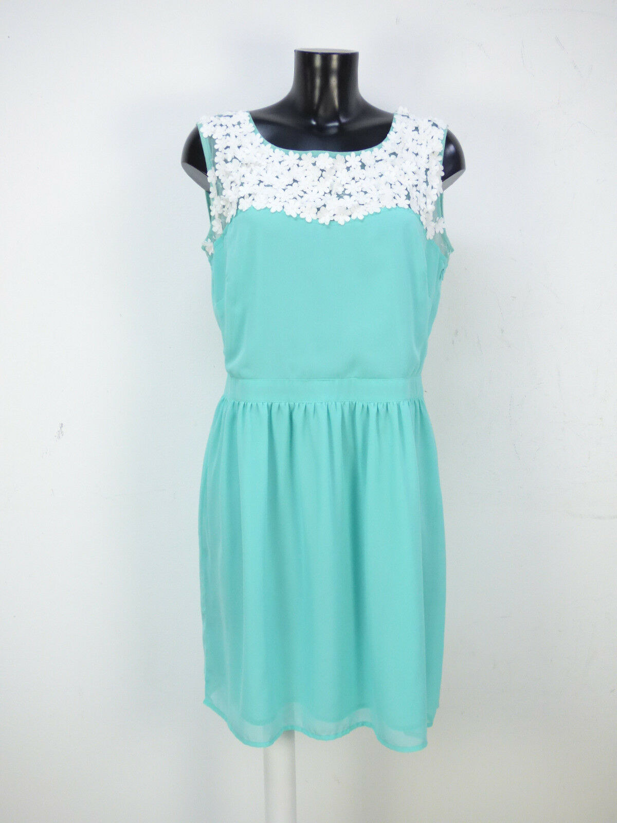 FRENCH COLLECTION KLEID GR 42   green & WIE N( O 6016 )