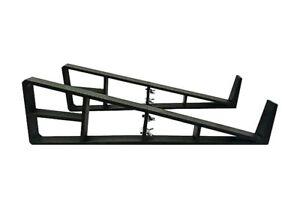 3dwaves 9u Horizontal Eurorack Black Stand - New - Perfect Circuit Ventes Pas ChèRes 50%