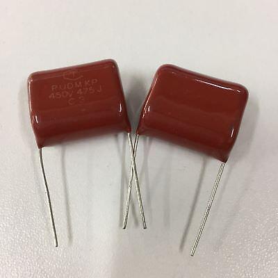 10pcs 100V 475 K 4.7uf 4700nf 4700000pf P22 CL21 CBB metal film capacitor