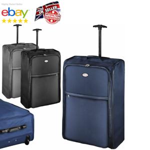 Extra-Large-Foldable-Suitcase-30-034-Lightweight-Wheeled-Travel-Bag-Case-Luggage-UK