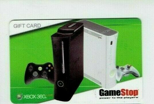 Game Stop Gift Card - XBOX 360 Systems - 2009 - EB Games - Older - No Value