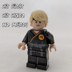 Karate Kid Cobra Kai Johnny inspired custom printed Minifigure
