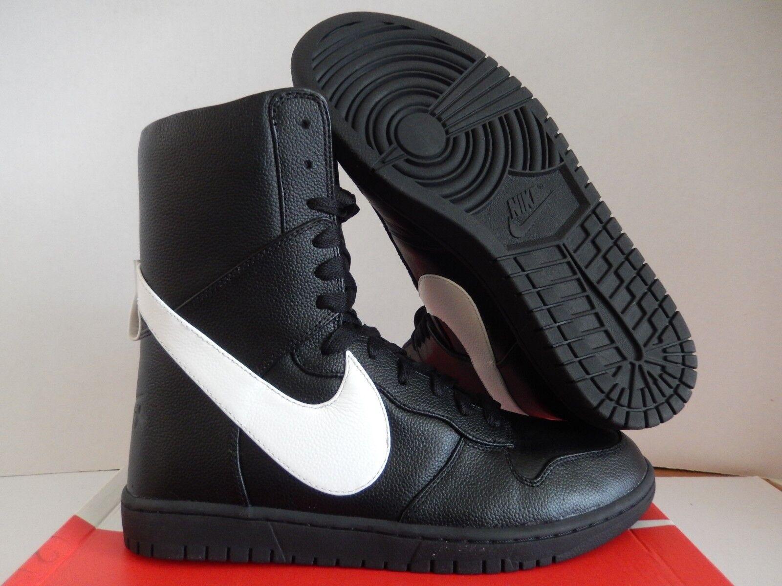 Nike e nero-white lux / rt ricardo tisci nero-white e sz 11,5 [841647-010] 1e6039