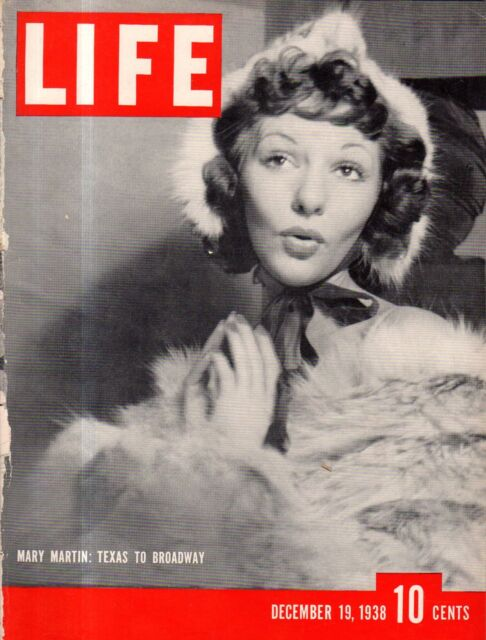 1938 Life December 19 - Mary Martin; Whaling; We need an army; Grange party