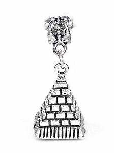 Pyramid-of-Giza-Egypt-Trip-Landmark-3D-Dangle-Charm-for-European-Bead-Bracelets