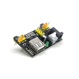 5x(MB102 Breadboard 3.3V/5V Power Supply Module Für Arduino Board GY