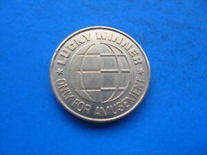 (15c6) Lucky Winner Doré Jeton Coin Unc-afficher Le Titre D'origine
