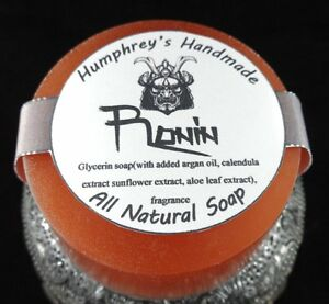 RONIN-Shave-Soap-Beard-Wash-Hinoki-Japanese-Men-039-s-Puck-Glycerin-Bar-Samurai