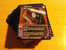 STAR WARS TCG SITH RISING COMPLETE MASTER SET OF 90 CARDS