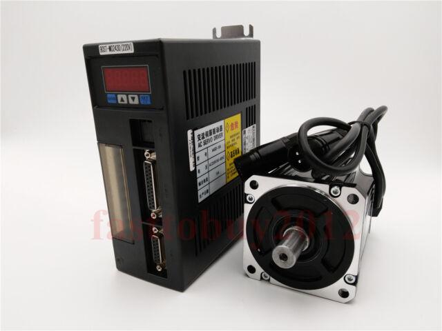 750W AC Servo Motor 2.4NM NEMA34 220V 3000R/Min Drive CNC Food Processsing