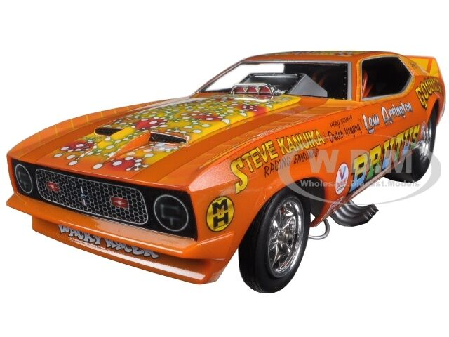 1971 Ford Mustang Nhra Funny Car Brutus Ltd Ed 750pc 1 18 Autoworld aw1169