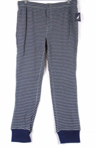 Nautica Men's In The Navy Striped Soft Thermal Pants KL51F4 433B