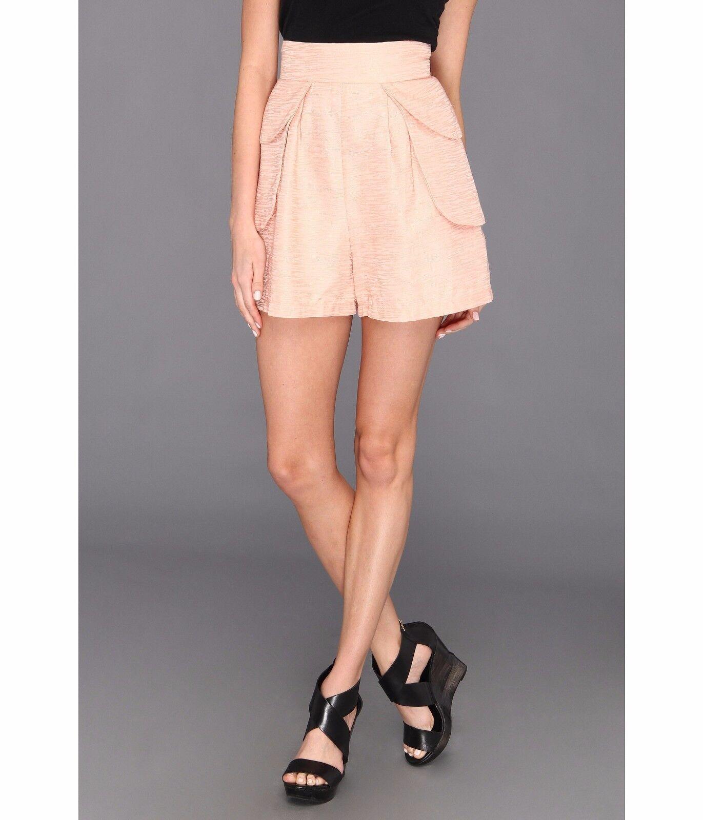 Lisa Taranto Lyla Dress Shorts Pink Women's 6