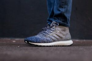 de5dd70a092eb3 Adidas Ultra Boost ATR All Terrain size 13. BB6128 Grey Indigo Blue ...