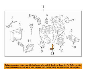toyota oem 03 08 corolla 1 8l l4 a c ac evaporator heater drain hose rh ebay com 2010 Corolla Engine Oil Requirement Mazda Fe Engine Race