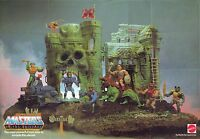 He-man And The Masters Of The Universe Mattel Toys Display Poster