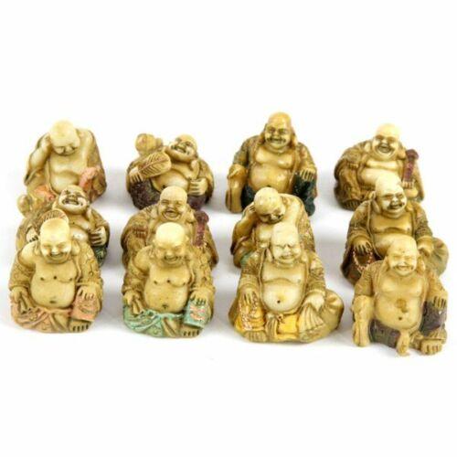 Statuina del buddha cinese ridente per minimondo