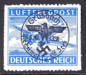 GERMANY MC1a GRUSBACH OVERPRINT OG NH U/M VF/XF BEAUTIFUL GUM