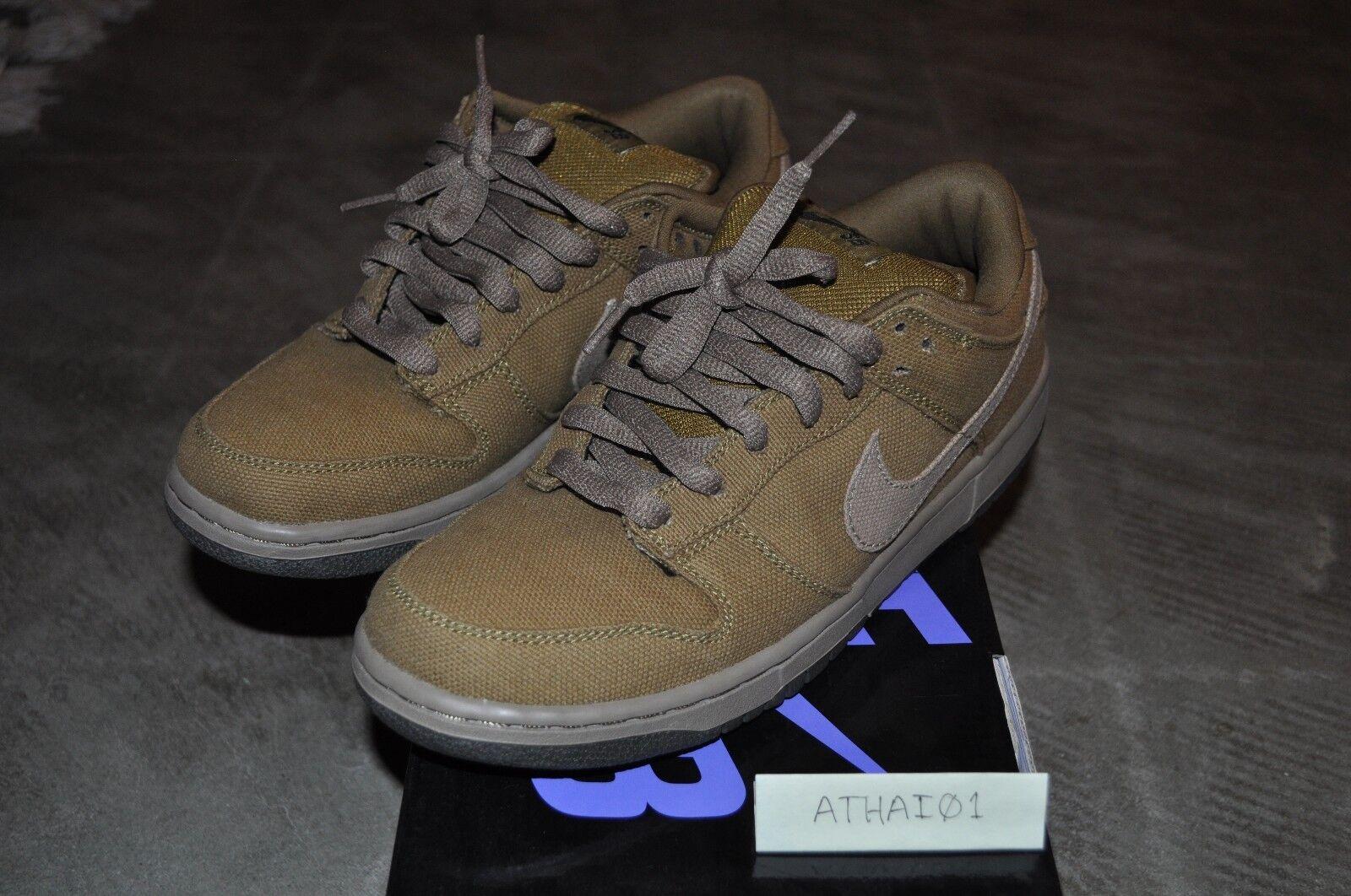 Nike Dunk Low Pro SB Spanish Moss Sandalwood Size 8