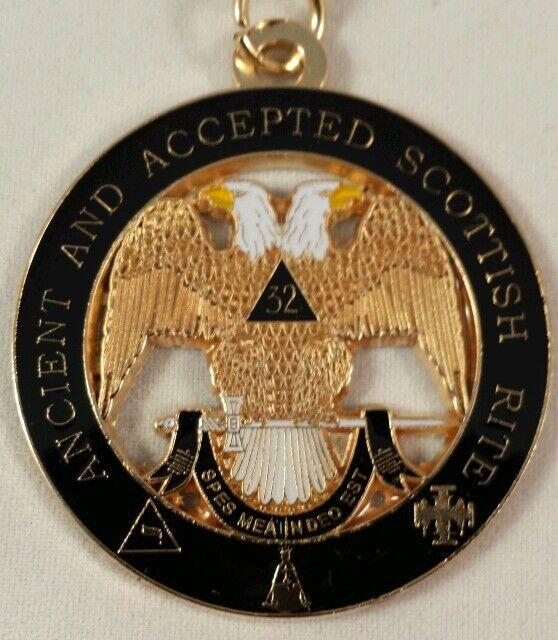 4031788 Scottish Rite Money Clip Freemason 32 32nd Degree Wallet Bill Fold