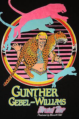S/M * vtg 80s 1988 RINGLING BROS BARNUM & BAILEY circus t shirt * 61.28
